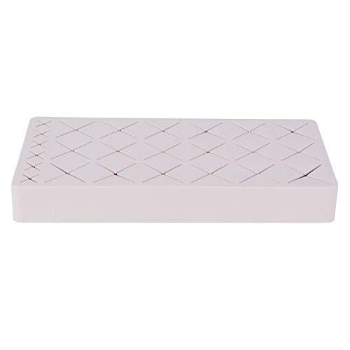 01 Soporte para lápiz Labial, Estuche de Almacenamiento de lápiz Labial Antideslizante Desmontable, para encimera de tocador(Rosado)
