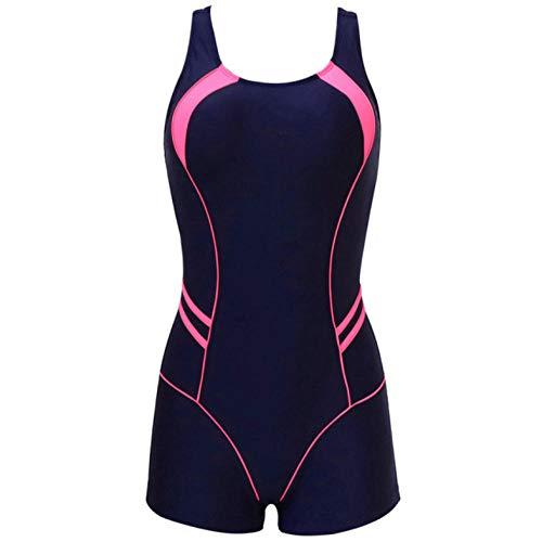 Empty Einteilige Badeanzüge Patchwork Badebekleidung Damen Badeanzüge Badeanzug für Damen-XL