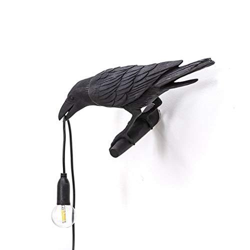 HENGGE Lámpara De Pared Lámpara De Puerto El Pájaro Propicio Industriales Pared Lámpara USB, Adecuado para Vivir Lámpara Barra De Cafetería De La Pared del Dormitorio del Sitio