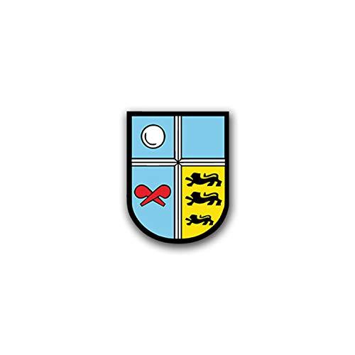 Aufkleber/Sticker ABC Abwehrregiment 750 Baden AbwRgt Bruchsal BW 5x7cm A1586