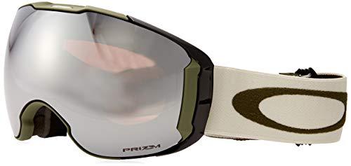Oakley unisex-adult Airbrake Sunglasses, Grau/Schwarz/Rosa (dark brush grey/prizm black/prizm hi pink), Einheitsgröße