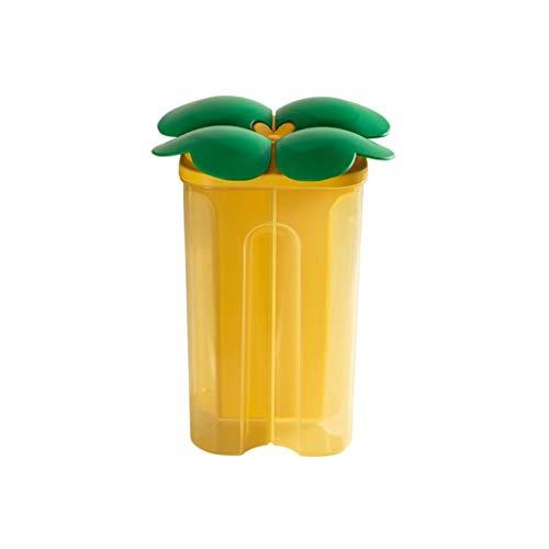 ZAZA Tarros Contenedor Tarro de Cocina de Alimentos Tapa de plástico duraderas Snacks Despensa y Botes de Cocina Tanque de Almacenamiento Contenedor Alimentos