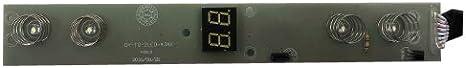 Módulo electronico botonera Campana Teka DVT 785 B, GY-TG-2LED-4JAX
