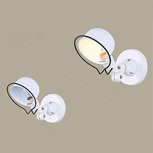 DiseñO Moderno Vintage Edison LáMpara De Pared Industrial Mechanical Arm Francia Jielde LáMpara De Pared Reminisce Retractable Light, Blanco