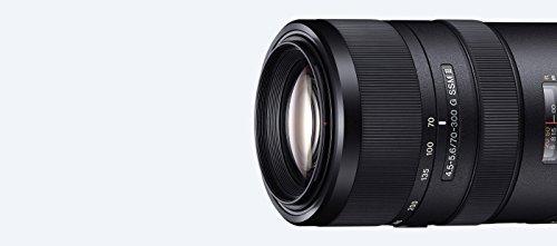 Sony SAL-70300G2 G Tele-Zoomobjektiv (70-300mm F4,5-5,6 G SSM II, 62 mm Filtergewinde) schwarz