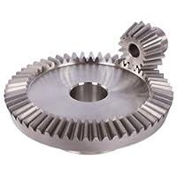 Bevel gear made of steel module 5 16 teeth i=3:1 milled MAEDLER 36218000