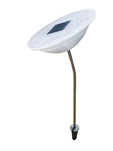 Außenleuchte Varna, Solar, 2 x LED Solarlampe mit Farbwechsel, Gartenleuchte