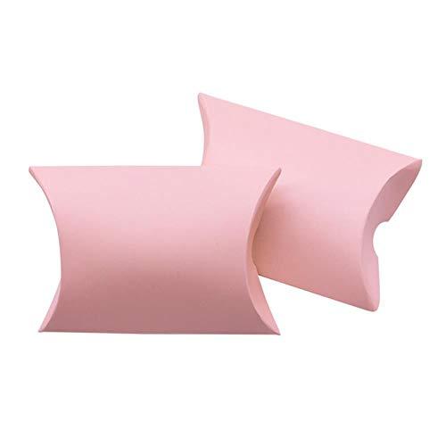 Xinger Kraftpapier Kussenvorm Snoep Geschenkdoos Voor Verjaardag Home Feestdecoratie Benodigdheden Bedankjes Verpakkingsdozen, B07,50st
