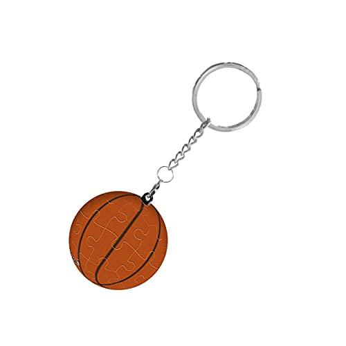 Engpai 24 piezas 4 cm llavero rompecabezas tridimensional esfera rompecabezas baloncesto