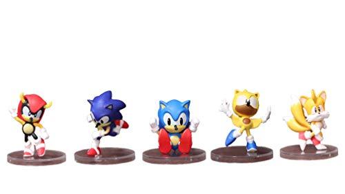 Sonic Toys 5 Stück/Set Sonic Puppe...