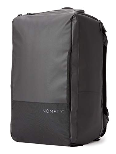NOMATIC 40L Travel Bag- Duffel/Backpack, Carry-on Size for Airplane Travel, Everyday Use with TSA Compliant Built in Laptop and Tablet Sleeve, Updated V2 for 2021