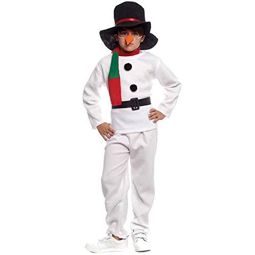 Disfraz Muñeco de nieve Infantil para Navidad 2-4 años