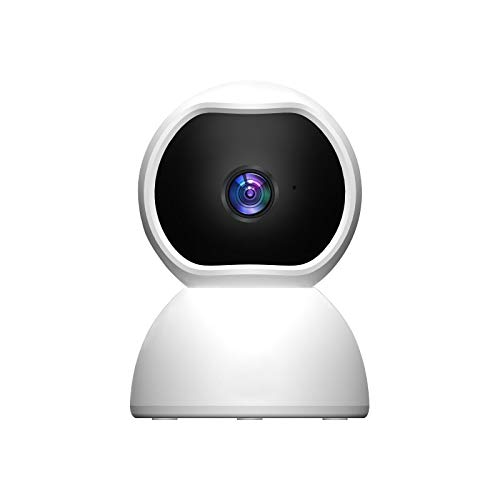 Junqin Smart Wireless HD Camera, Pet Baby Monitor, Cámara de vigilancia para el hogar, Cámara de Seguridad Inteligente compacta inalámbrica para Interiores, Video HD de 1080p, Detección de Movimiento