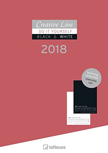 Creative Line 2018: 2 in 1 Bastelkalender A4