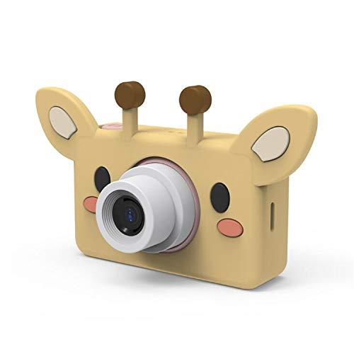BABIFIS draagbare camcorder met digitale camera Mini HD Kids met LCD-scherm 2,0 inch met stickers voor kinderen