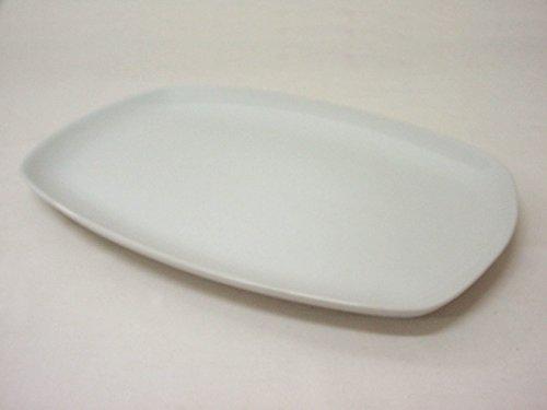 Bandeja Fuente Servir Plato PRESENTACION Rectangular Porcelana Blanco