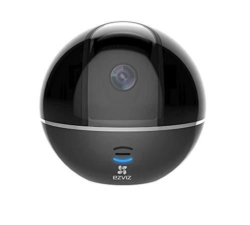 EZVIZ C6T, 1080p Full HD WLAN zwenk-/kantelcamera met nachtzicht, bewakingscamera met microfoon en luidspreker, Smart Tracking, Smart Privacy Mask, cloud Service, zwart