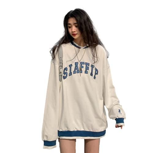 Cslada Y2k Estilo de Moda Jersey de Mujer diseño de impresión Streetwear Sudadera con Capucha de Gran tamaño Coreano de Terciopelo Acolchado suéter Abrigo Ropa de Invierno Femenina