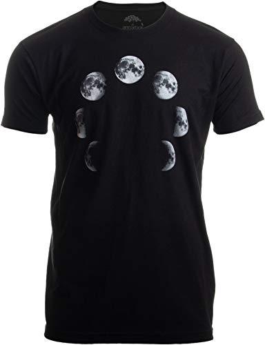 Lunar Cycle | Moon Art NASA Astronomy Space Nerd Full Luna for Men Women...