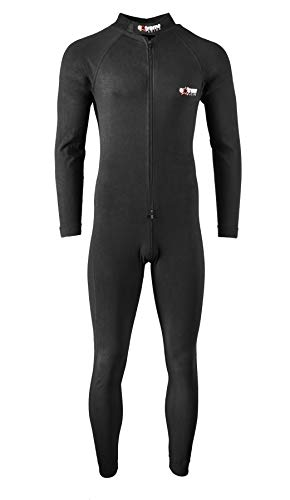 Extreme Racing one Piece Base Layer (Large) Black