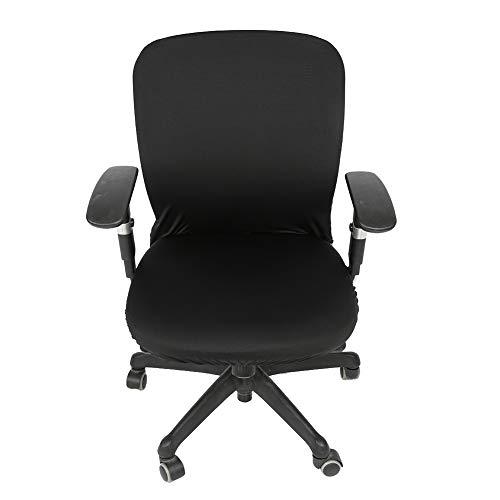 Changor Elastisch Büro Stuhl Startseite, Schwarz Computer Büro Stuhl 70~80 cm 45~58 cm Polyester Material Polyester zum Büro Computer Stühle