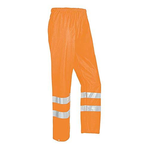 Sioen SI-Compton_Pxl Sensio HI-VIS regenbroek, oranje, maat XL