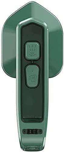 Micro plancha de vapor profesional, mini vaporizador de ropa de mano portátil, mini máquina de planchar portátil plegable, adecuado para el hogar y los viajes,verde (Especificaciones de EE. UU