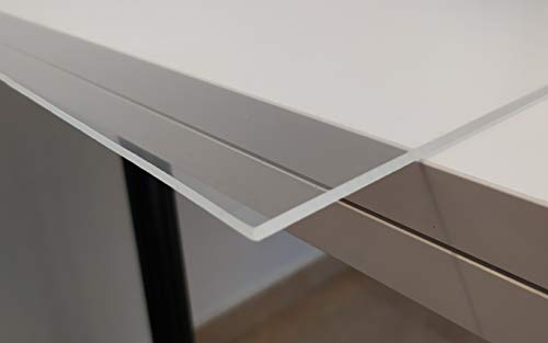 Hoja de plástico acrílico transparente 3mm - Tamaño A3 DINA3 (297 x 420 mm)- Metacrilato transparente varios tamaños - Plancha Metacrilato traslucido - Placa acrílico transparente - Lamina plástico