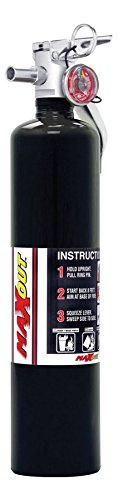 H3R Performance MX250B Fire Extinguisher, Black