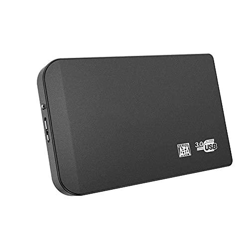 Hard disk esterno in lega da 2 Tb 500 Gb 320 Gb 60 Gb, USB 3.0 Mobile Backup, adatto per PC Desktop Computer, Notebook Computer, Macbook, Smart TV (120 GB, Nero)