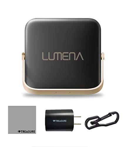 [正規品]ルーメナー7LUMENA7LEDランタンルーメナーLUMENA[コンパクト/充電式/キャンプ/アウトドア/モバイルバッテリー/1300ルーメン/セット品](黒)