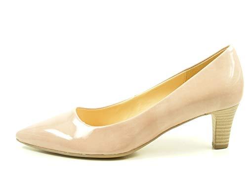 Gabor 71-250 Schuhe Damen Pumps Weite F Kaffir Lack, Größe:40 EU, Farbe:Rosa
