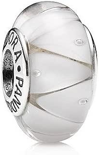 790921 - Abalorio de plata de ley con cristal