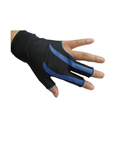 ZXJOY Guantes de billar con 3 dedos para hombre y mujer, para mano ...