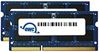 OWC 12GB (1 x 4GB + 1 x 8GB) 1867 MHZ DDR3 SO-DIMM PC3-14900 204 Pin CL11 ترقية الذاكرة (OWC1867DDR3S12S)
