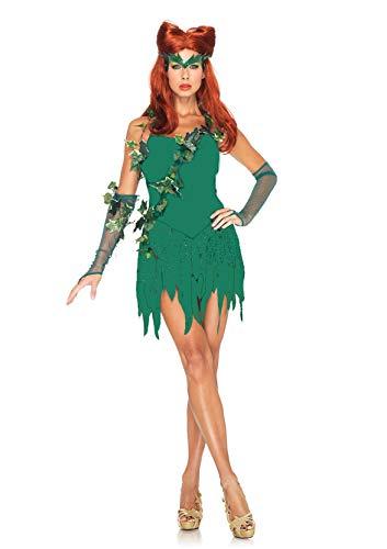 MJPARTY Disfraz de hiedra de Vixen para mujer (mujer, talla M/L (12-14))