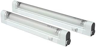 Knightsbridge IP20 16W T4 - Tubo fluorescente con interruptor y difusor (4000 K)