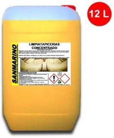 SANMARINO LIMPIADOR TAPICERÍAS TEXTILES CONCENTRADO 12 L.