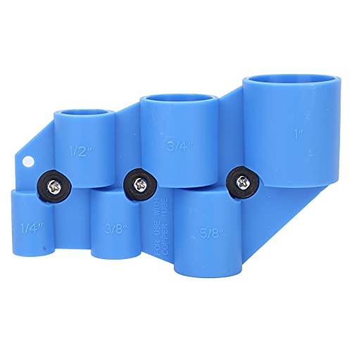 Accesorios de tubería, materiales plásticos Herramienta de desbarbado de tubería Sin fugas de agua para varios tipos y tamaños de tuberías