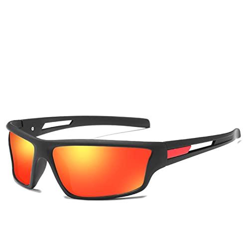 RWEAONT Gafas de Sol polarizadas Hombres de manejo de Hombres Deportes al Aire Libre para Hombres de Lujo de Marca de Lujo Oculos Driving Gafas (Lenses Color : C5)