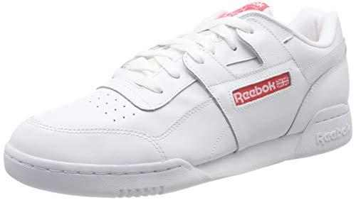 Reebok Workout Plus Mu, Zapatillas para Hombre, Blanco (White/Bright Rose 0), 46 EU