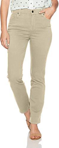 Gloria Vanderbilt womens Classic Amanda High Rise Tapered Jean, Perfect Khaki, 18 Plus Short