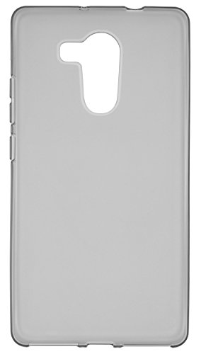 mumbi Hülle kompatibel mit Huawei Mate 8 Handy Case Handyhülle, transparent schwarz - 5