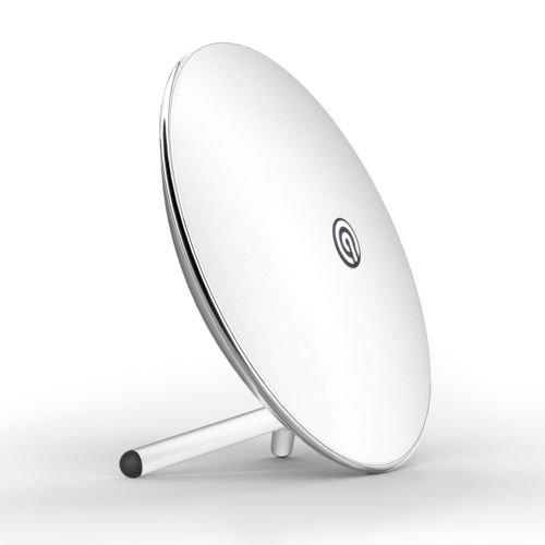 NINETEC Luna Wireless Home Bluetooth NFC Speaker Lautsprecher 22 Watt 360 Sound 2x 8W Tieftonlautsprecher - 2x 3W Hochtonlautsprecher Subwoofer Freisprechfunktion Schwarz