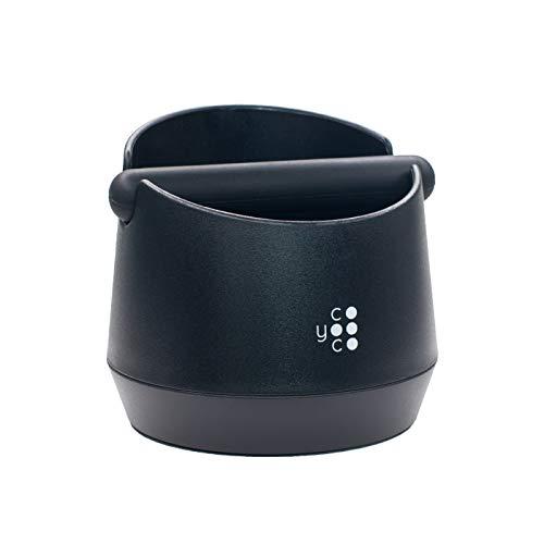 COYOOCO Abklopfbehälter für Siebträger (Barista Zubehör) Knock Box Kaffeesatz Espresso
