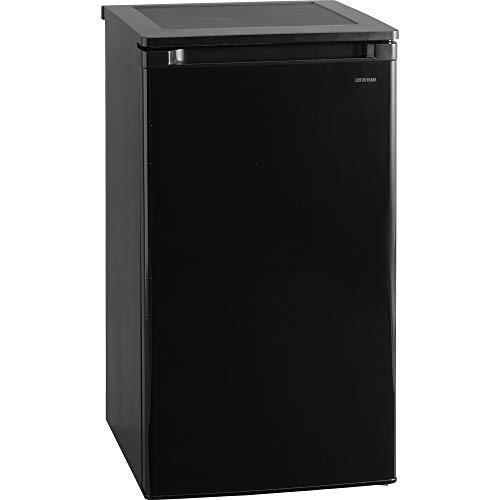 アイリスオーヤマ 冷凍庫 60L 小型 家庭用 静音 ノンフロン 前開き 温度調節5段階 メーカー1年保証 ブラック IUSD-6A-B