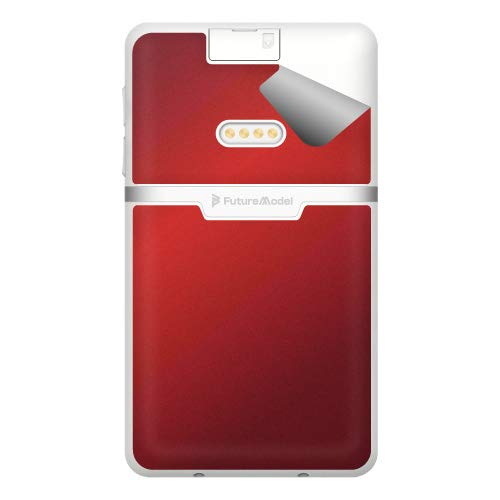 スキンシール NichePhone-S 4G 【グロス・メタリックレッド】