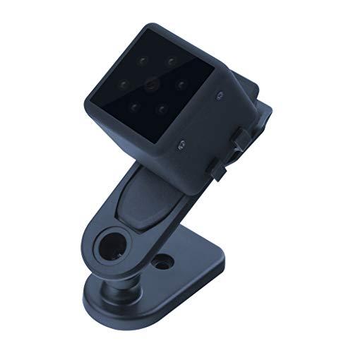 Glücklich Tragbare HD 1080P Bewegungserkennung Kamera für Outdoor Sportarten mit Kopfhalterung (Schwarz)