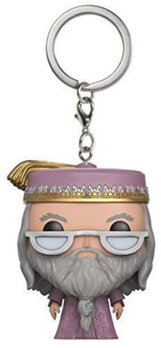 Funko Pop Keychain: Harry Potter Dumbledore Toy Figure image