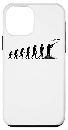iPhone 12 mini Clay Pigeon Shoot Evolution Funny Trap Shooting Gift For Men Case